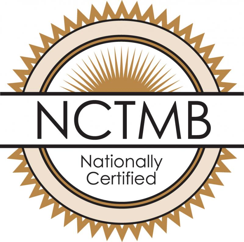 National Certification for Therapeutic Massage & Bodywork Logo